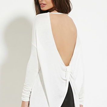 Twisted-Back Top