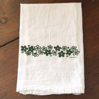 Pyrex Tea Towel - Spring Blossom - Crazy Daisy - 100% Cotton - Kitchen Towel