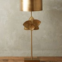 Bronzed Leaflet Floor Lamp by Anthropologie in Bronze Size: One Size Lighting