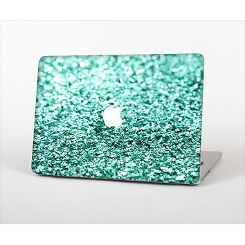 The Glimmer Green Skin Set for the Apple MacBook Air 13""