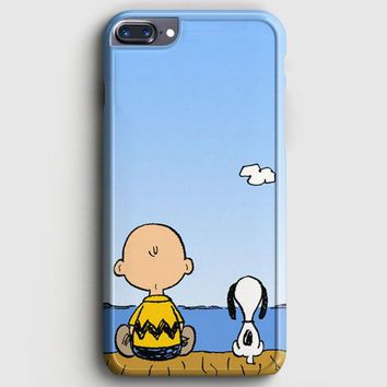Snoopy And Charlie Brown iPhone 7 Plus Case