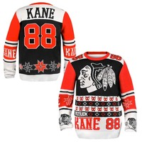 Patrick Kane Chicago Blackhawks Ugly Sweater