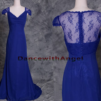 Blue chiffon simple long party bridesmaid dress,prom dress,long prom dress,bridesmaid dresses,evening dresses,bridesmaid dress,evening dress