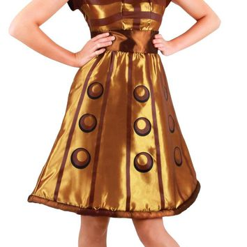 Doctor Who Dalek Dress Sm Med for Halloween 2017