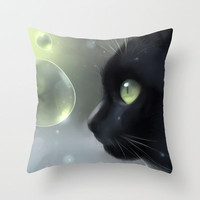 worlds within Throw Pillow by Rihards Donskis