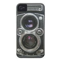 Vintage Antique Camera Case Cover Iphone 4 Case-mate Case