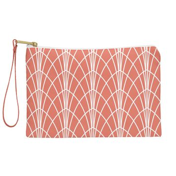 Heather Dutton Arcada Persimmon Pouch