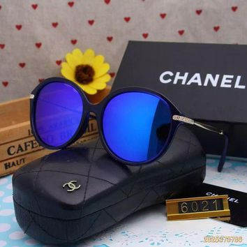 DCCKU62 Original Chanel Fashion New Design Polarized Flash Lenses Sunglasses 6021 - 185