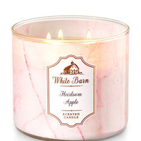 Heirloom Apple 3-Wick Candle - White Barn | Bath And Body Works