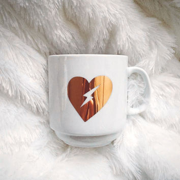 Electric Heart Mug