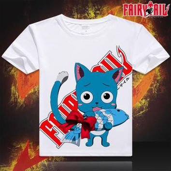 Fairy Tail Short Sleeve Anime T-Shirt V5