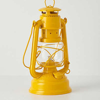 Anthropologie - Glass Globe Oil Lantern
