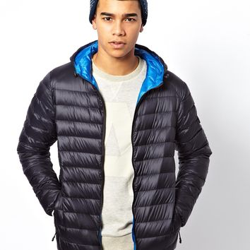 Puffa Jacket with Hood & Light Weight Down