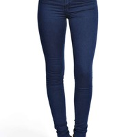 Abby High Rise True Blue Super Skinny Jeans