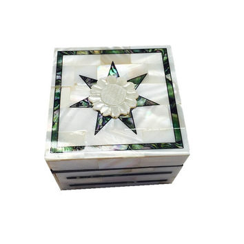 Handmade Mother of Pearl Jewelry Box