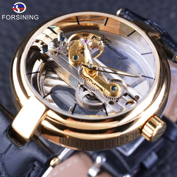 Forsining GMT1050 Skeleton Automatic Watch