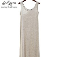 Women Long Nightgown Spring Summer New Modal Ladies Dressing Gown Female Sleep Lounge Woman And Leisure
