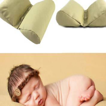 Wedge shaped Infant Posing Pillow for Newborn Photography Baby Cushion CC119