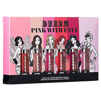PINK WITH ENVY™ 6-piece Mini Full On™ Lip Polish Collection - Buxom | Sephora