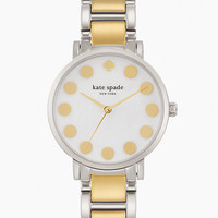 Kate Spade Gramercy Dot Watch Two Tone Gold ONE