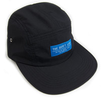 Quiet Life: Base 5 Panel Hat - Black