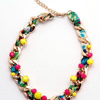 Candy Bar Necklace Ivory