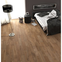 Shop Style Selections Woods Natural Glazed Porcelain Indoor/Outdoor Floor Tile (Common: 6-in x 24-in; Actual: 5.91-in x 23.62-in) at Lowes.com