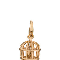 Kate Spade Bird Cage Charm Gold ONE