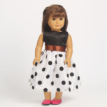"Free shipping hot 2014 new style Popular 18"" American girl doll clothes dress b-h58"