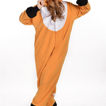 NEW Unisex Kigurumi Onesuits Pajamas Animal Fox Pajamas set Cartoon Cosplay/Costume Chi's Sweet Homewear For Women&Couple