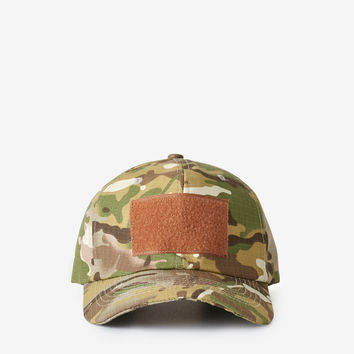 Velcro Patch Cap in Desert Safari Sand