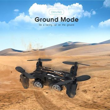 SBEGO 132 Mini Pocket Flying Car 2.4G 4CH Design 6-axis Gyro 360 Degree RC Quadcopter