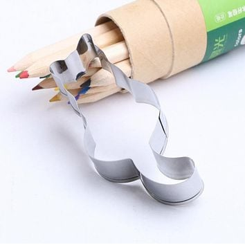 Stainless Steel Cat Shape Biscuit Mould Fondant Candy Biscuit Cookie Cutters Mold Cake Decorating Creative DIY Baking Tools