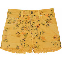 Citizens of Humanity Chloe printed high-rise stretch-denim shorts – 57% at THE OUTNET.COM
