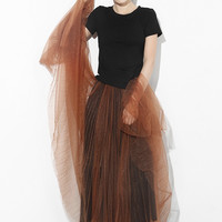 Black Tee + Tulle Skirt Set