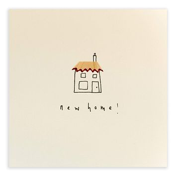 New Home Pencil Shavings Card