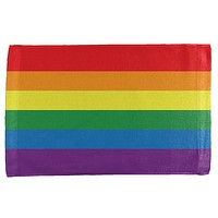 Rainbow Gay Pride Flag All Over Hand Towel