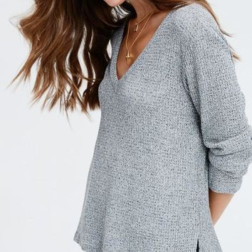 Morning Waffles Knit Sweater