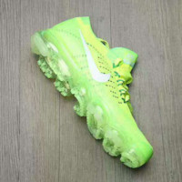 NIKE AIR KNIT Breathable Sneakers Running shoes Fluorescent green