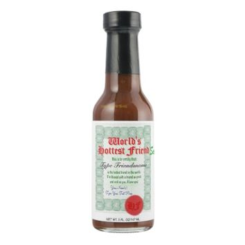 World's Hottest Friend Hot Sauce