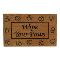 "Welcome Mat-""Wipe Your Paws"""