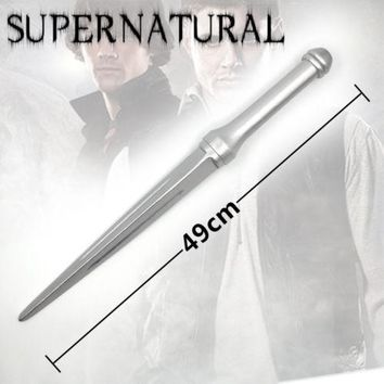 Hit TV Supernatural Angel Blades Silver Sword Angel Weapon Wooden Sword Cosplay Props Gift