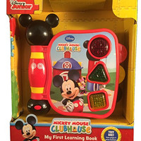 Disney Mickey Mouse Clubhouse First Learning Book, Shapes and Sounds