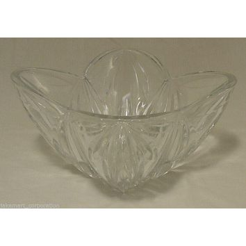 Crystal Serving Bowl 8in x 8in x 5in