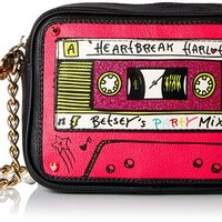 Betsey Johnson Kitch 2 Mixtape Shoulder Cross Body Bag