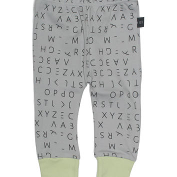 Lost Alphabet Skinny Legging