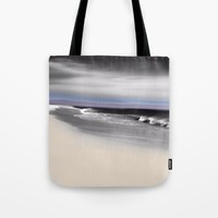 Lovely Twilight Seascape 2 Tote Bag by Jen Warmuth Art And Design