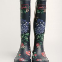 Maureen Floral Print Rain Boots By Joules