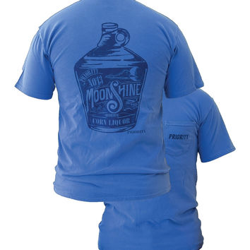 Southern Couture High Priority Moonshine Country Pocket Unisex Bright T Shirt