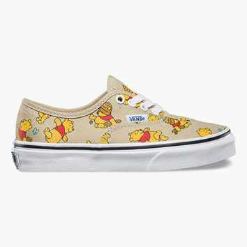 Vans Disney Winnie The Pooh Authentic Girls Shoes Multi  In Sizes
